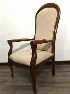 Fauteuil Style Voltaire : fauteuil voltaire provencal style louis philippe ~ Teatrodelosmanantiales.com Idées de Décoration
