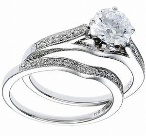 white gold diamond ring band wedding set With white gold diamond wedding ring sets