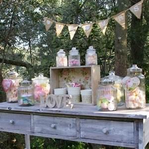 Bar A Bonbon Mariage : pack candy bar vintage pour mariage anniversaire fille ~ Melissatoandfro.com Idées de Décoration