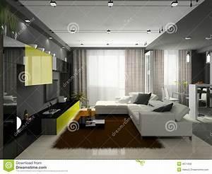 Gewächshaus In Der Wohnung : innenraum der stilvollen wohnung stock abbildung bild 4671658 ~ Sanjose-hotels-ca.com Haus und Dekorationen