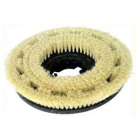 "White Tampico Floor Brush   For use with 17"" Floor Buffers"