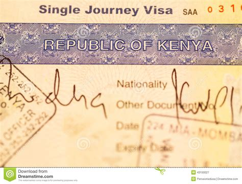 kenyan passport renewal form kenyan passport application form