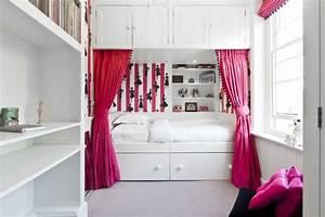 Lit Fille Blanc : lit fille original quelle parure de lit choisir ~ Teatrodelosmanantiales.com Idées de Décoration