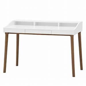 Schreibtisch Eiche Weiß : schreibtisch hagen eiche wei b rotisch arbeitstisch ~ Michelbontemps.com Haus und Dekorationen