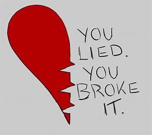 Broken Heart by Sweetwii044 on DeviantArt