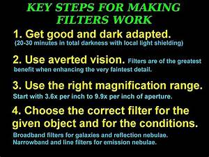Useful Filters For Viewing Deep-Sky Objects | Prairie ...