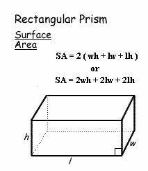 7-7 Surface Area of Prisms and Cylinders - Pre-Algebra ...