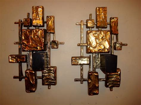 Collection Of Unique Wall Decor Candle Light Large by Unique Gold Square Candle Sconces For Home Lighting Ideas