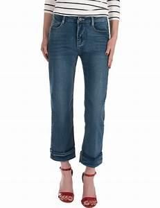 Damen jeans weites gerades bein