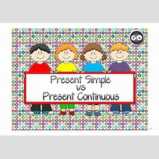 Present Simple Vs Present Continuous  Game Worksheet  Free Esl Projectable Worksheets Made By