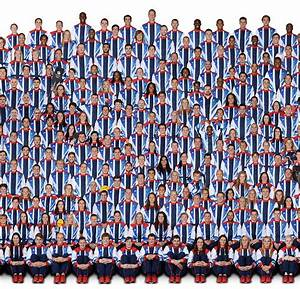 London 2012 Olympics: Giant picture of all 541 Team GB ...