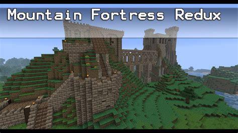 Minecraft Mountain Fortress Redux