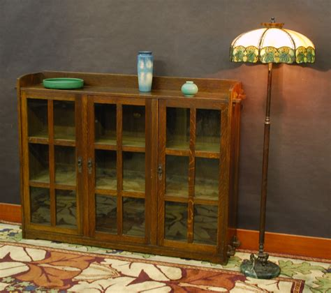Bookcase Company by Voorhees Craftsman Mission Oak Furniture Lifetime