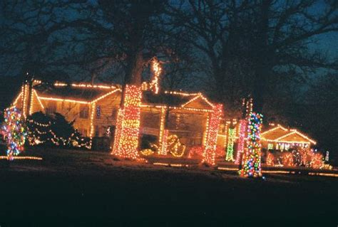 christmas lights at woolaroc lodge picture of