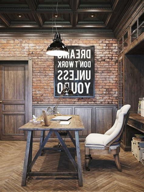 le bureau industrielle idées de décoration d 39 un bureau style industriel