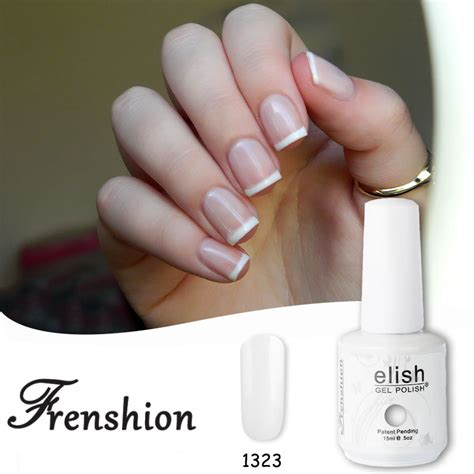 frenshion blanc white base coat uv gel nail uv led shining vernis semi permanent