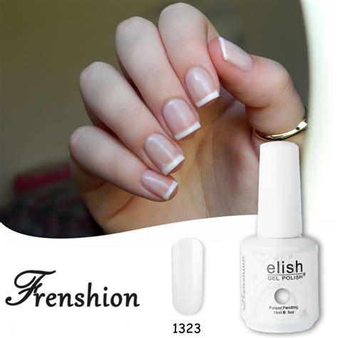 vernis semi permanent sans le uv frenshion blanc white base coat uv gel nail uv led shining vernis semi permanent