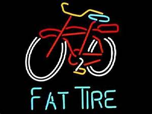Fat Tire neon lights