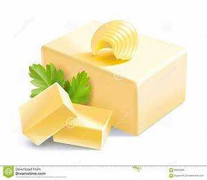 Butter Illustration Stock Vector - Image: 58056365