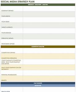 18 social media marketing plan template that will make for Social media plans template