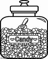 Coloring Candy Pages Jar Canopic Printable Jars Template Adults Bulk Books Colouring Sheets Delicious Adult Printables sketch template