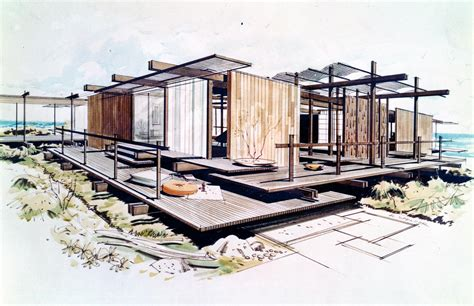 blueprint houses modern architecture drawing top architectural drawings