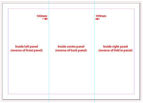 Tri Fold Brochure Template Indesign Free Costumepartyrun
