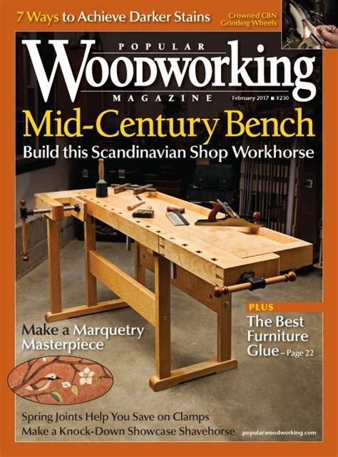 popular woodworking  digital magazine collection