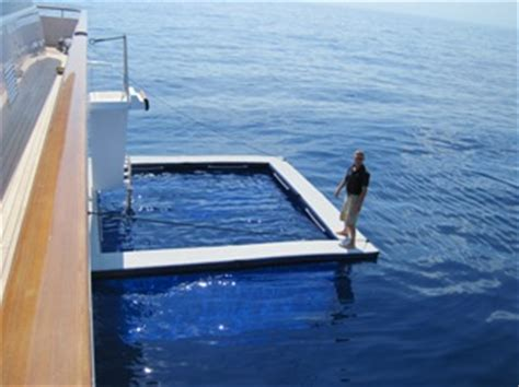 stainless steel floating the mkii sea pool henshaw inflatables ltd