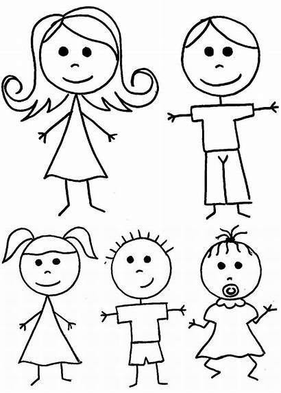 Coloring Stick Pages Figure Printable Colorin Getcolorings