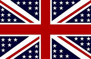 Flag Of The UKS United Kingdom States Of Great Britain