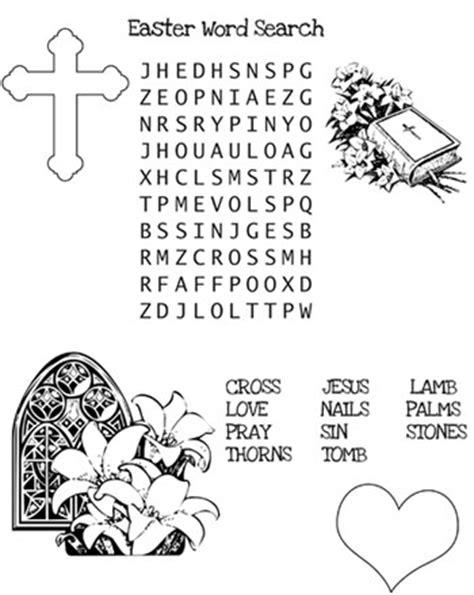 christian easter word search printable treats com
