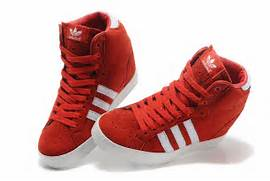 adidas-increase-womens-high-heeled-shoes-red-white-b shoes jpg  Adidas Shoes High Tops Red