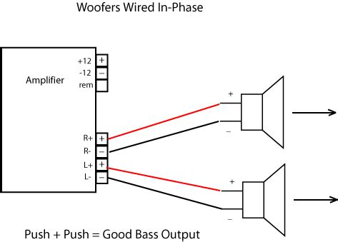 Audio Parallel Speaker Wiring Diagram Circuit