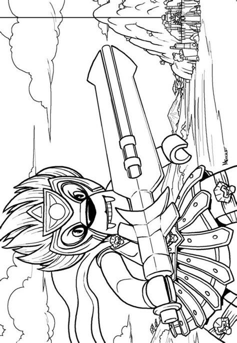 make your own lava l n coloring page lego chima laval
