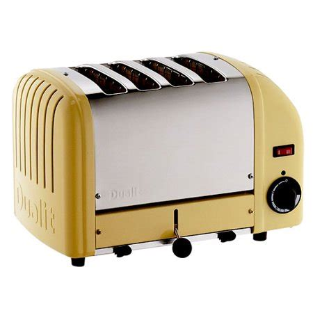 Yellow Toaster by Dualit 4 Slice Newgen Classic Toaster Canary Yellow