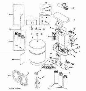 Ge Pnrq21rrb00 Reverse Osmosis System Parts