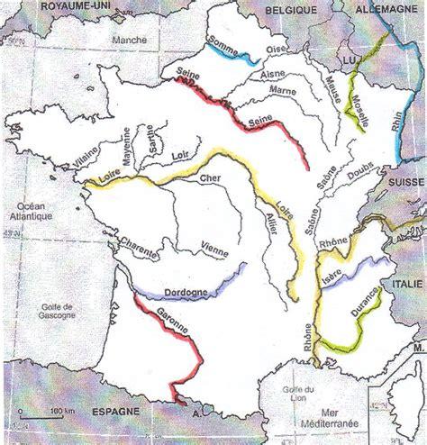 Carte De Avec Fleuves Et Rivières carte de fleuves et rivi 232 res