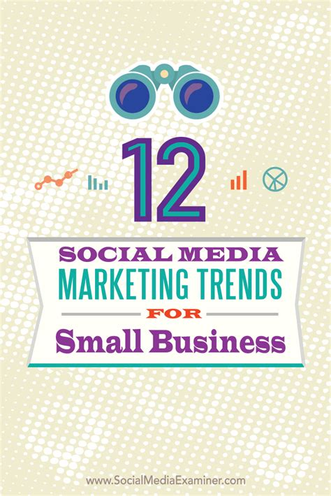 marketing for business 12 social media marketing trends for small business