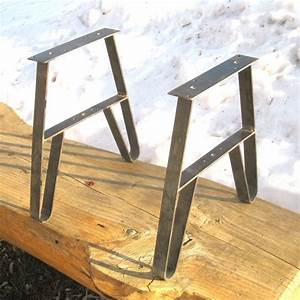 inspirations hairpin leg metal bench legs home depot With metal furniture feet home depot