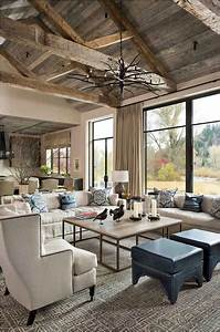 Cozy, Rustic, Farmhouse, Living, Room, Remodel, And, Design, Ideas