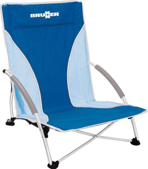 chaise basse de plage chaise de plage brunner cuba bleue raviday cing