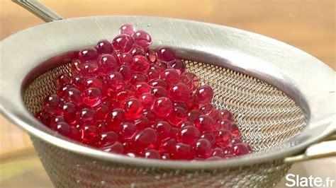 cuisine moliculaire le caviar de grenadine la recette de cuisine moléculaire