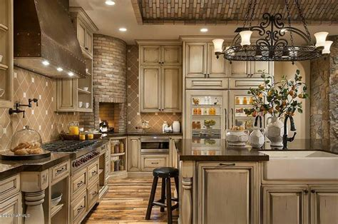 tuscan country kitchen i m starting to the white antiqued cabinets for 2972
