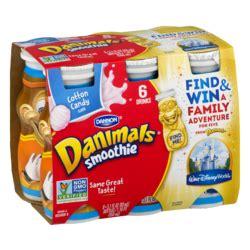 danimals smoothie nutrition label trovoadasonhos