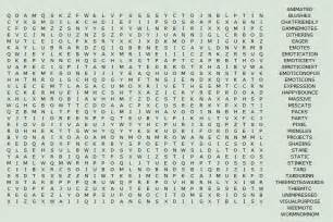Hard Printable Word Searches