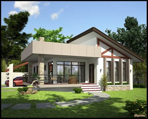 simple single story bungalow placement simple bungalow home design simple