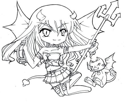 Download Sexy Chibi Coloring Pages