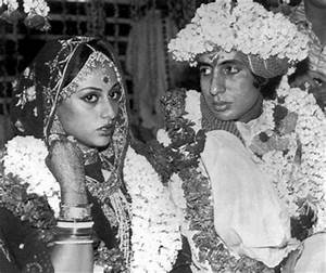 Amitabh Bachchan And Jaya Bachchan Wedding Photos
