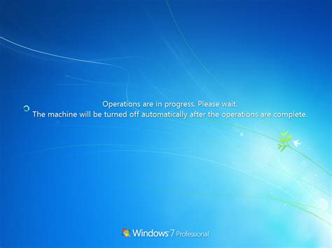 Windows Update Screen